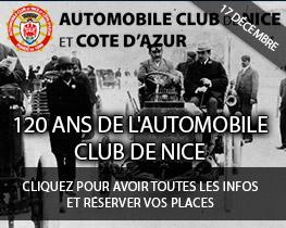 120 ans de l'automobile club de Nice