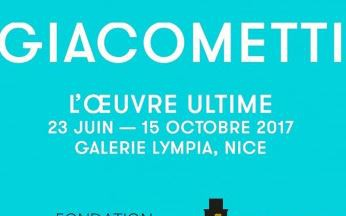 Nice - GIACOMETTI, L\'OEUVRE ULTIME