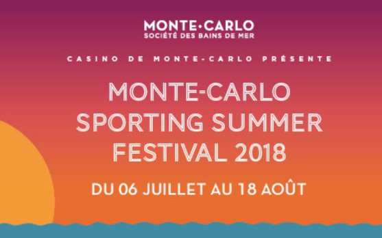 Nice - MONTE-CARLO SPORTING SUMMER FESTIVAL 2018