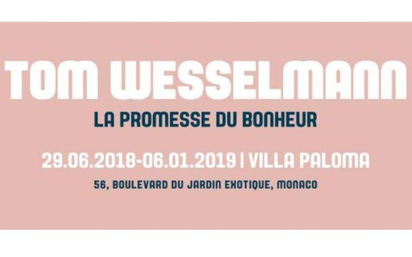Nice - ​EXPO TOM WESSELMANN \