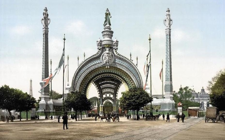 Nice - L\'EXPOSITION UNIVERSELLE DE 1900 A PARIS