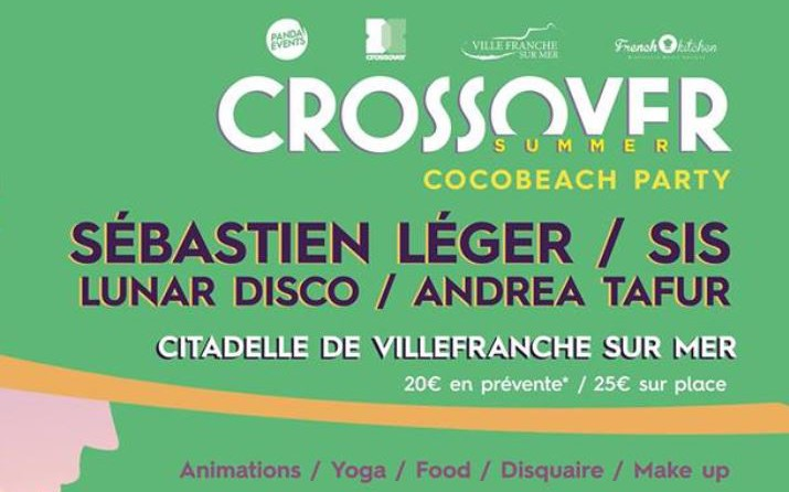 Nice - CROSSOVER SUMMER Cocobeach Party