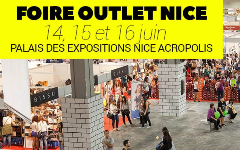 Nice - FOIRE OUTLET NICE