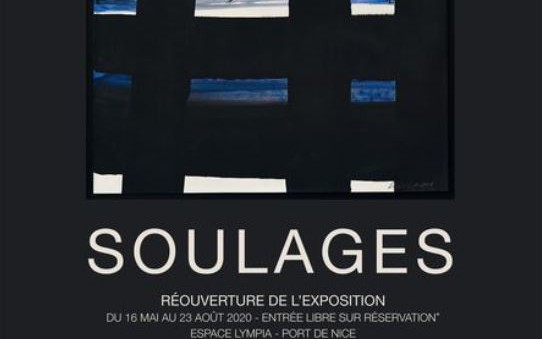 Nice - EXPO PIERRE SOULAGES