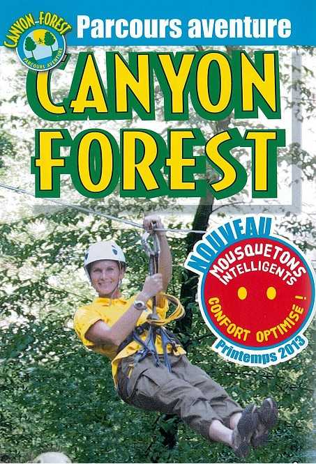 parcours aventure canyon forest tyrolienne escalade canyoning