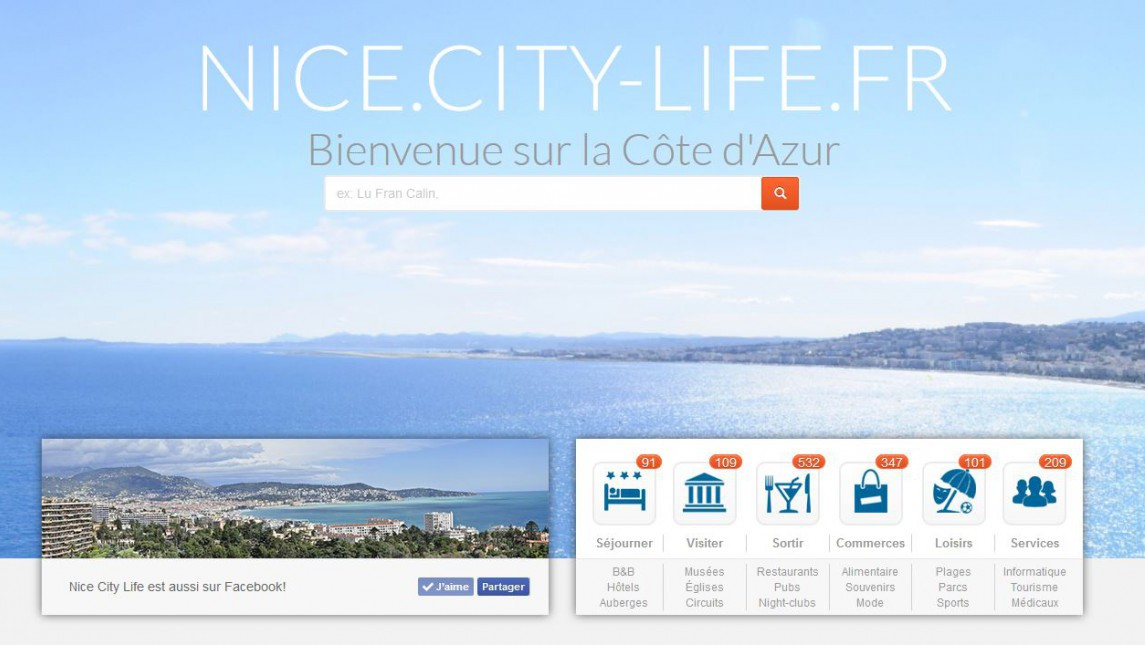 Nice City Life - La Clinique du Web