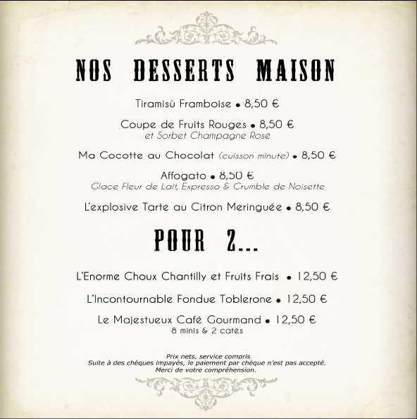 desserts maison voile rouge fondue toblerone