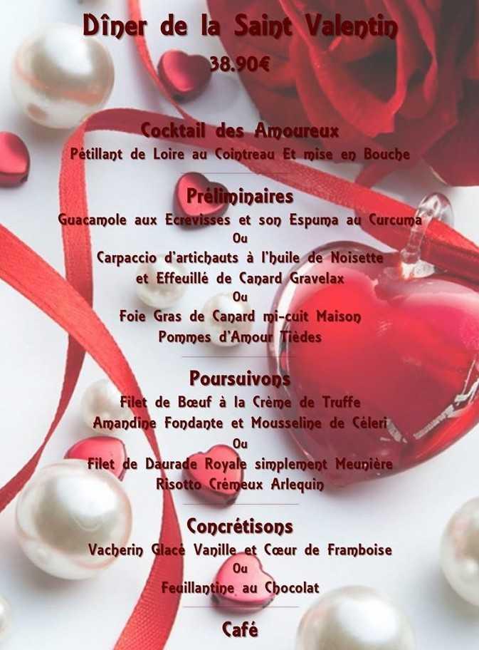 Authentic saint valentin amoureux
