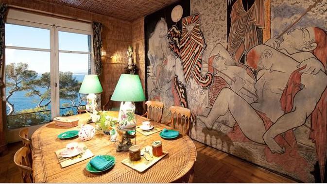 Nice - Villa Santo Sospir & Cocteau