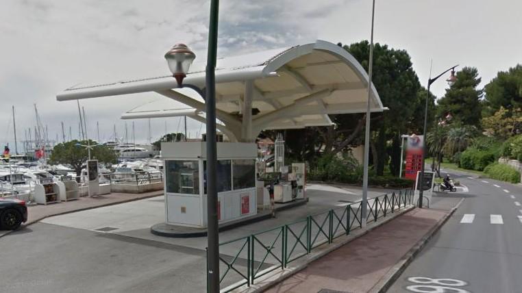 Nice - Station Total Beaulieu sur Mer