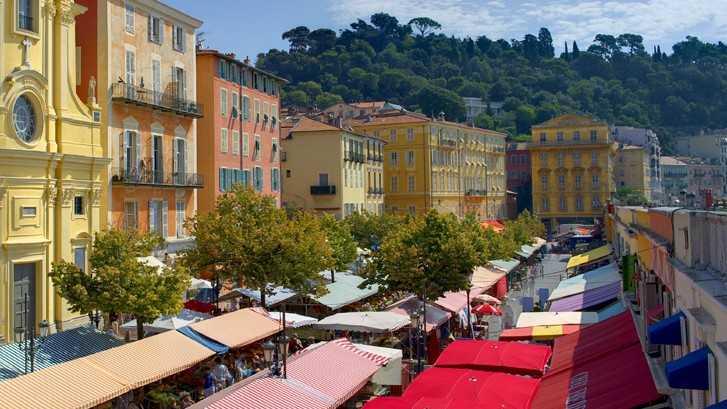 Marché aux Fleurs saleya - Marché à Nice - Nice City Life