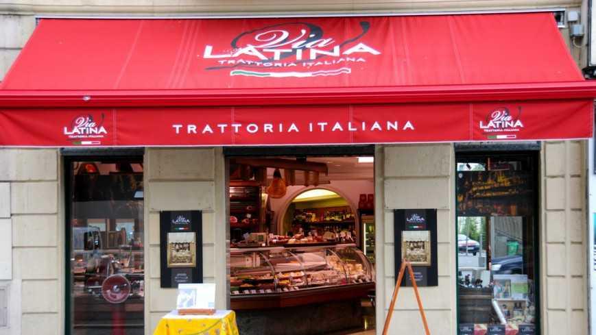 Nice - Via Latina - Trattoria Italiana