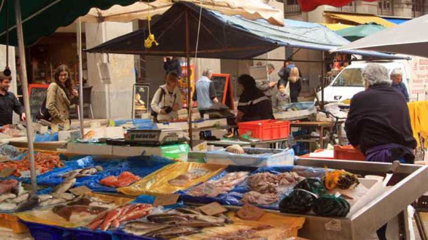 March aux poissons march nice nice city life - Cuisine et confidences place du marche saint honore ...