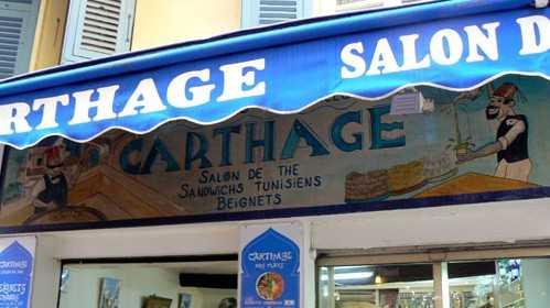 Nice - Pâtisserie Orientale Le Carthage