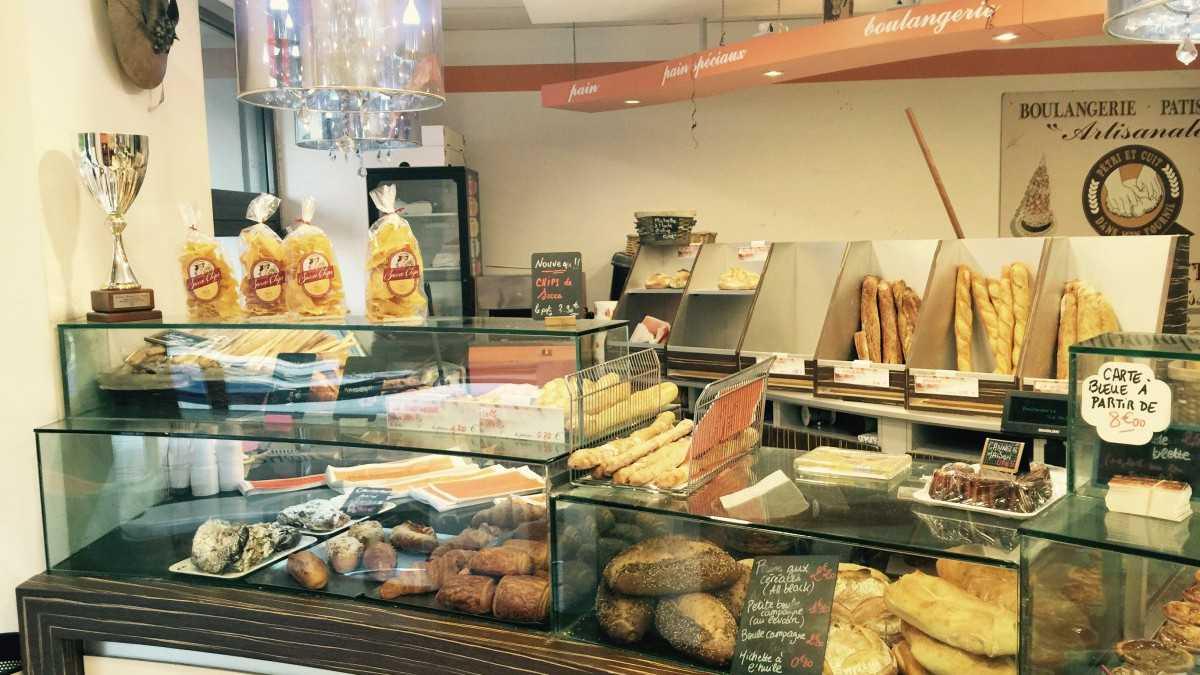 Nice - Boulangerie  La Niçoise