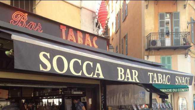 Nice - Bar Tabac La Civette Garibaldi