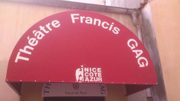 Nice - Thêatre Francis Gag