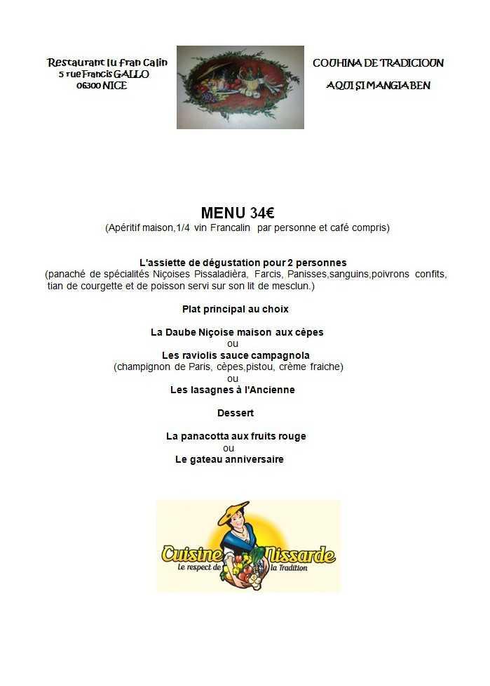 Saint Valentin Cuisine Nissarde Lu Fran Calin
