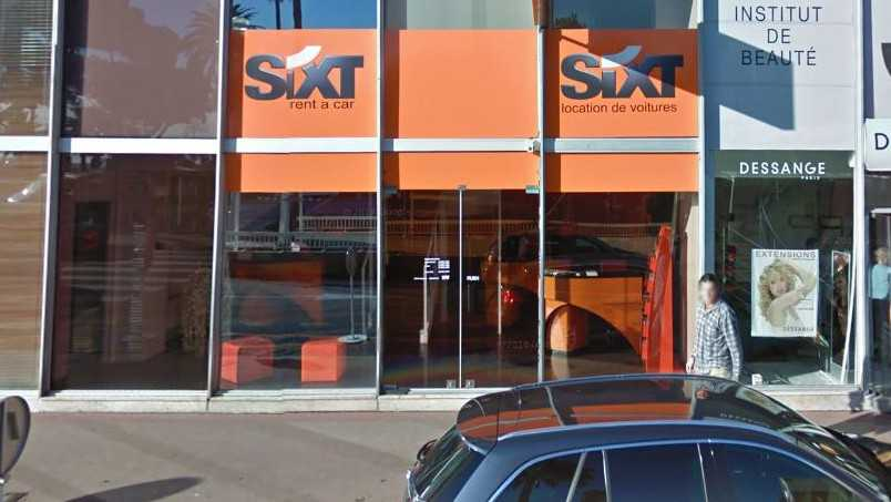 sixt nice centre location de voiture nice nice city life. Black Bedroom Furniture Sets. Home Design Ideas