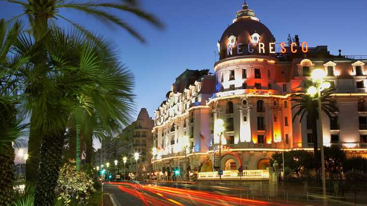 H tel le negresco h tel 5 toiles nice nice for Hotels 3 etoiles nice