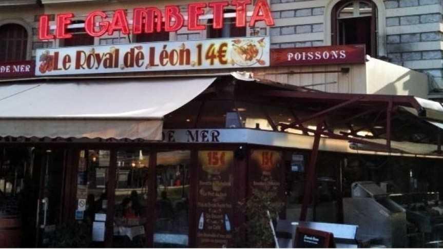 Nice - Brasserie Le Gambetta