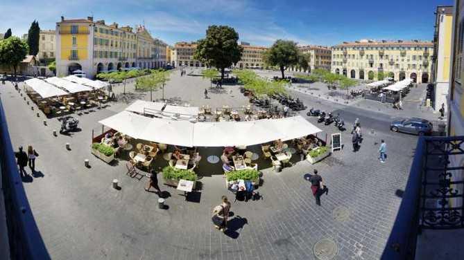 Nice - Café de la Place
