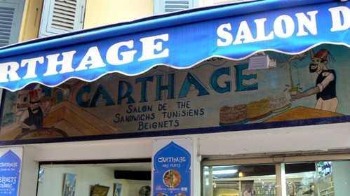 Nice - Salon de Thé Oriental Le Carthage