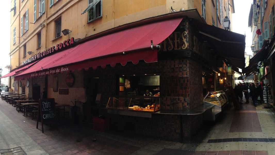 Nice - Chez René Socca