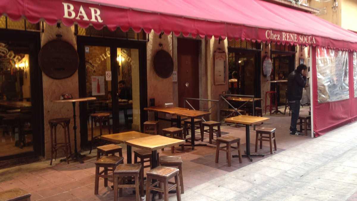 Chez ren socca cuisine ni oise nice nice city life for Restaurant cuisine nicoise nice