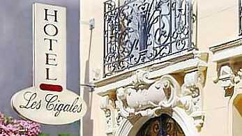 Nice - Hôtel Les Cigales ***