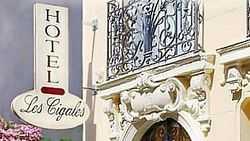 Hôtel Les Cigales ***