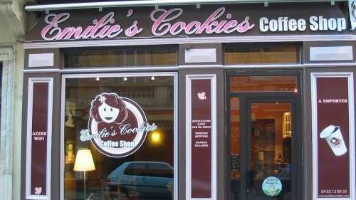 Nice - Emilie's Cookies Coffe shop