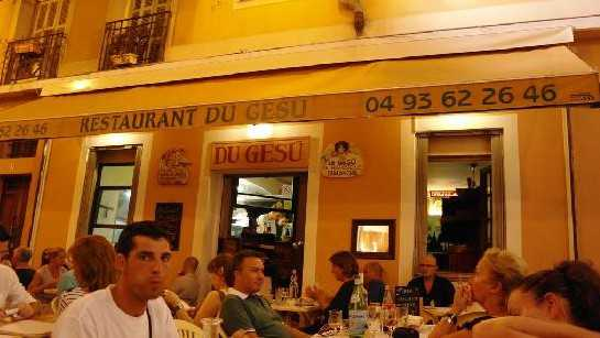 Nice - Restaurant du Gésu