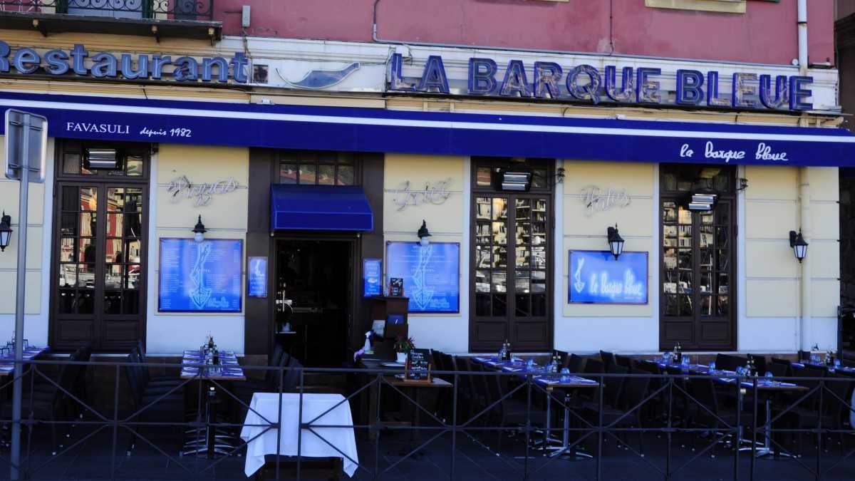 Nice - La Barque Bleue