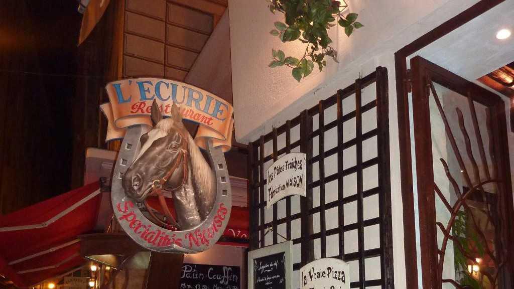 Nice - Restaurant L'Ecurie