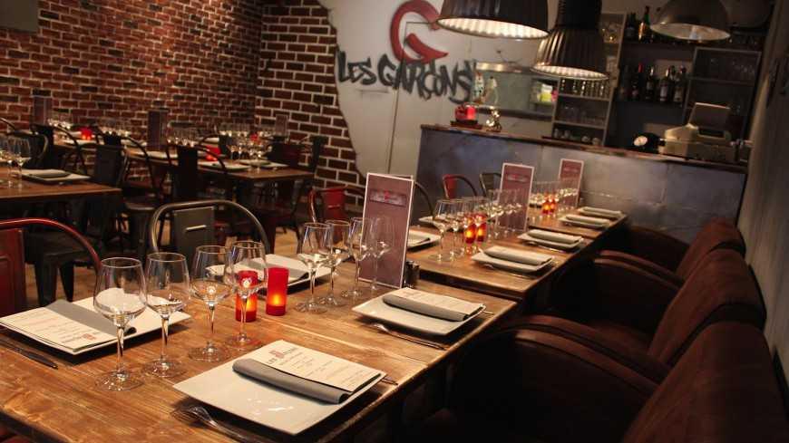 Nice - Restaurant Les Garçons