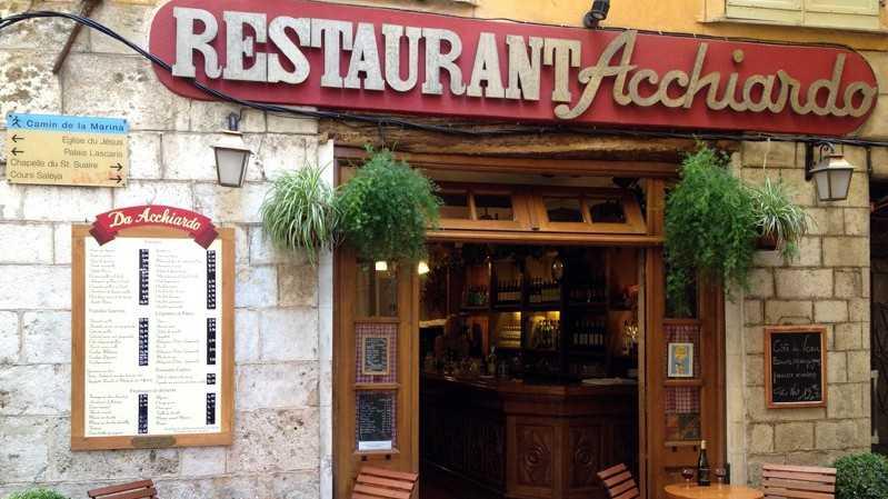 Nice - Restaurant Acchiardo