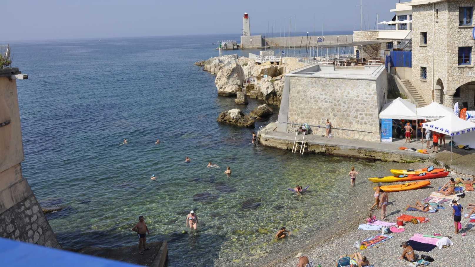 Club Nautique De Nice plage de la réserve - plages à nice - nice city life