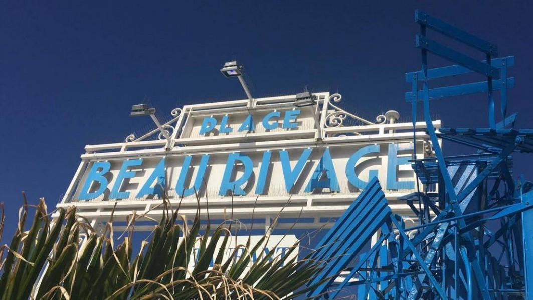 Nice - Plage Beau Rivage