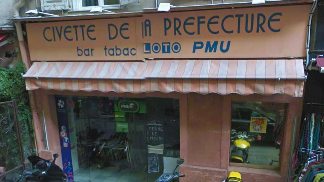 Nice - La civette de la préfecture.