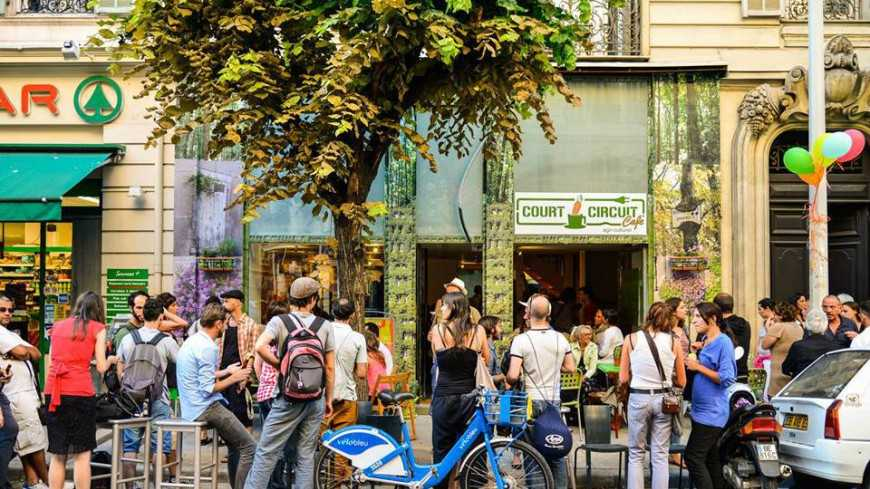 Nice - LE COURT CIRCUIT CAFÉ Agri Culturel