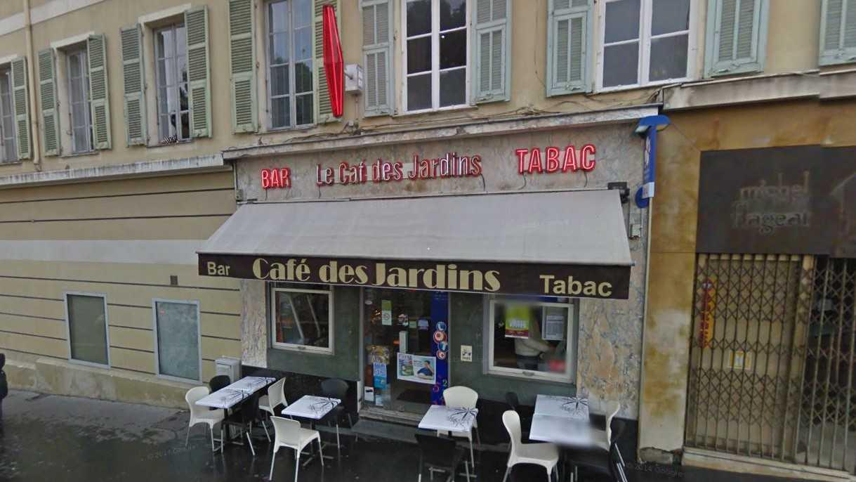 Nice - Le Café des Jardins Bar Tabac Jacques