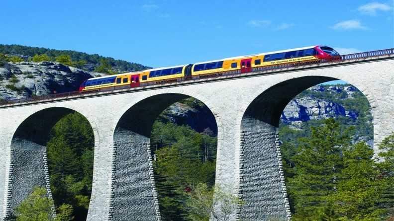 Nice - Train touristique des Pignes