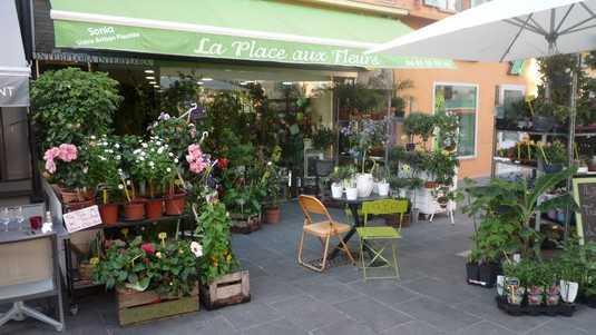 Nice - La place aux fleurs